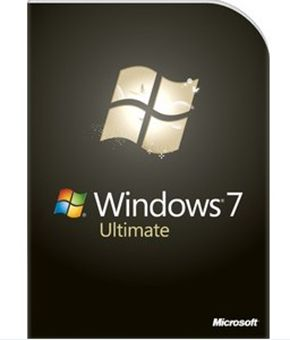 Windows 7 Ultimate Retail box