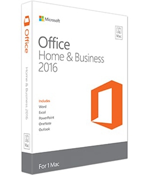 Microsoft Office 2016 Mac Home and Business Key
